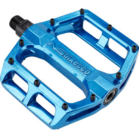 NS Bikes Aerial Pedale sealed blau